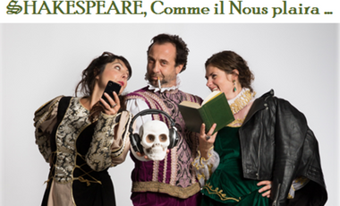 Visueel van project Skakespeare, Comme il Nous plaira...