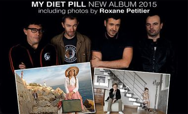 Project visual My Diet Pill (& Roxane Petitier) - New album: Photos & Music