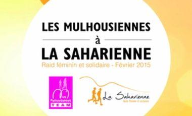 Project visual Les Mulhousiennes Team à la Saharienne