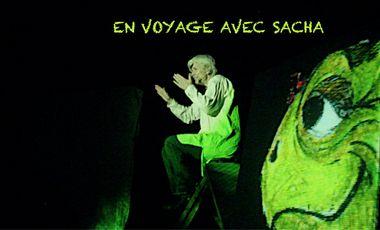 Project visual En voyage avec Sacha - spectacle musical jeune public