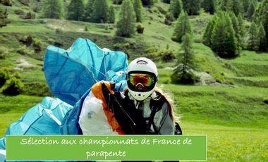 Project visual Sélection aux championnats de France de parapente