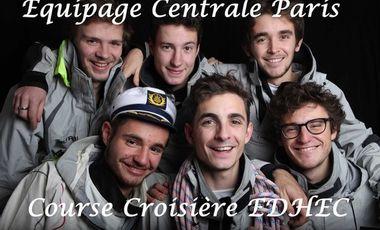Project visual Equipage Course Croisière  Edhec- Centrale Paris