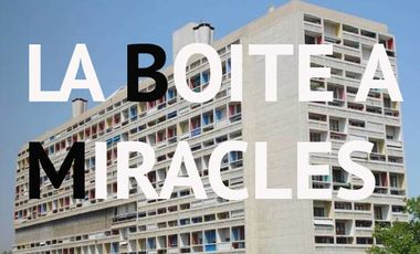 """Visueel van project La boite à Miracles :  Exposition en l'honneur du cinquantenaire de la disparition de """"Le Corbusier"""""""