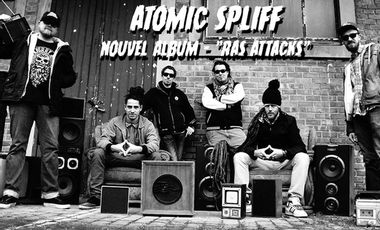 Visueel van project Sortie de l'album d'Atomic Spliff