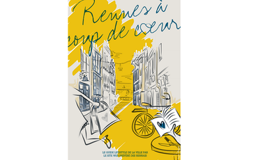 Project visual Rennes à coup de coeur sort son city-guide