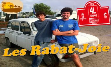 Visueel van project Les Rabat-Joie - 4L Trophy 2015