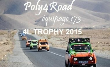 Project visual Poly4Road 4L Trophy 2015