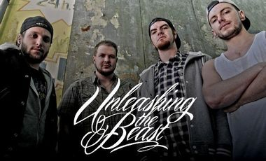 "Visueel van project Soutien à la finalisation du premier album du groupe ""Unleashing The Beast"""