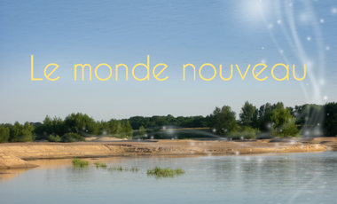 Project visual Le monde nouveau en CD