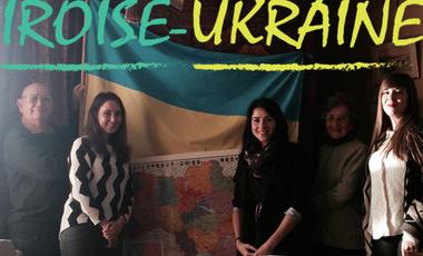 Visueel van project Aidons les ukrainiens