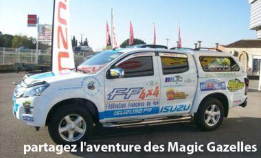 Visueel van project partagez l'aventure des Magic Gazelles