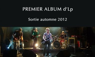 Visueel van project Enregistrement du premier album d'Lp