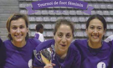 Visuel du projet Tournoi de foot féminin du PUC