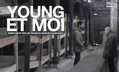 Visueel van project Young et moi, Tomer Sisley sur les traces du boxeur d'Auschwitz.