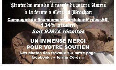 """Project visual Un moulin de qualité Astrié à la ferme Bio """"Cérès"""""""