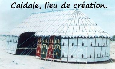 Project visual Caïdale, Lieu de Création