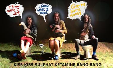 Visueel van project Kiss Kiss Sulphat'Ketamine Bang Bang !!