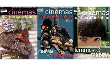Project visual Cinémas d'Amérique latine : la revue qui prend le pouls du 7eme art latino / la revista que va al compás del Cine Latinoamericano.