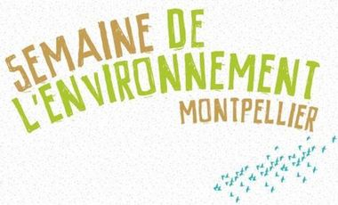 Project visual Semaine de l'Environnement à Montpellier