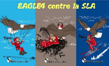 Visuel du projet Eagle4 contre la SLA