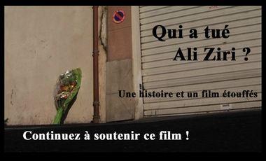 Visuel du projet Qui a tué Ali Ziri? Une histoire et un film étouffés