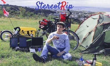 Visueel van project StereotRip : Les clichés européens à vélo