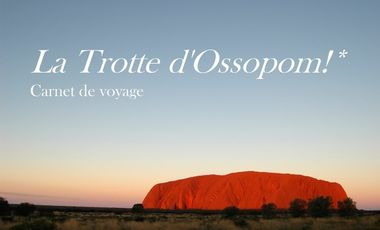 Project visual Carnet de voyage - La Trotte d'Ossopom!*