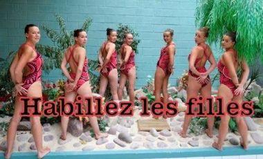 Visueel van project Habillez les filles ! Maillots Natation Synchronisée à financer!