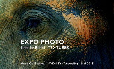 Visueel van project TEXTURES – Expo Photo Sydney (Australie)