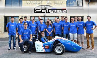 Visueel van project Formula Student ISAT 2015