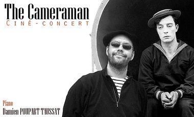 Visuel du projet Nouvel album de Damien Poupart-Taussat: The Cameraman (ciné-concert)