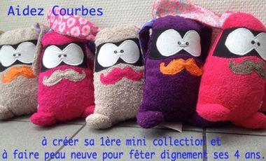 Project visual Courbes des créations originales ▲ Hautes en couleurs ▲ Made in Belgium ▲ Ludique et Pratique.