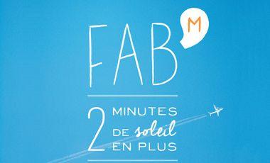 """Visueel van project Fab'M - Nouvel EP """"2 MINUTES DE SOLEIL EN PLUS"""""""