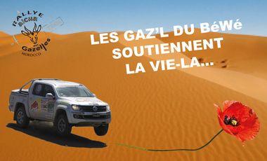 Visuel du projet Sous 2 Airs de Gazelles, soutenons La Vie-Là!