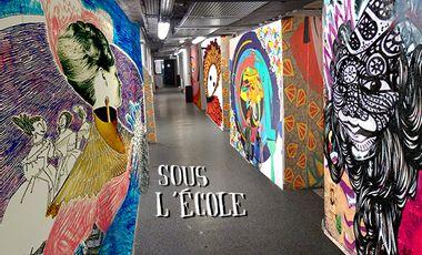 Visueel van project Sous l'École