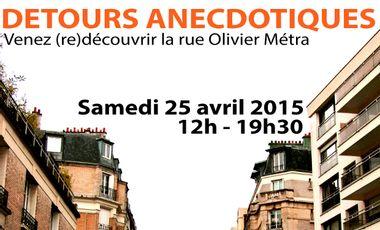 Visueel van project Détours Anecdotiques