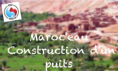 Project visual Maroc'eau - Construction d'un puits