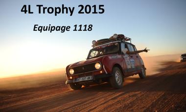 Visuel du projet M.A Friends 4L Trophy 2015