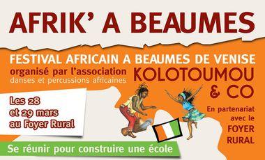 Visueel van project FESTIVAL AFRIK' A BEAUMES
