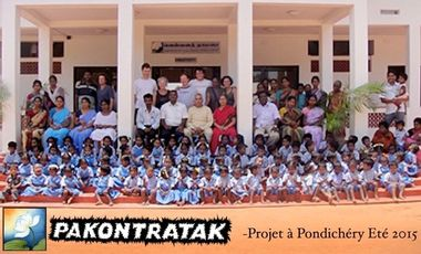 Project visual PROJET SOLIDAIRE A PONDICHERY