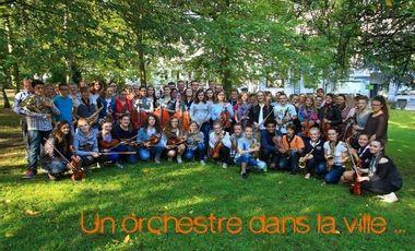 Project visual Un orchestre dans la ville...