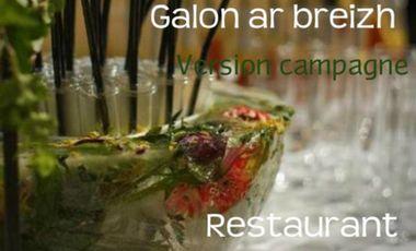 Visueel van project Le restaurant Galon ar breizh, version campagne!