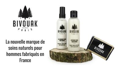 Visueel van project Bivouak : la nouvelle marque de soins naturels pour hommes fabriqués en France