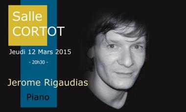 Project visual Recital Jerome Rigaudias Salle Cortot