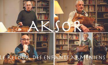 Visueel van project Aksor, le retour des enfants arméniens