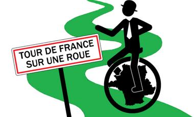 Visuel du projet Tour de France en Monocycle !