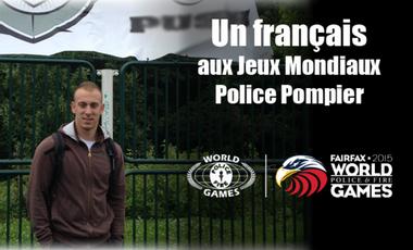 Visueel van project Un français aux Jeux Mondiaux Police Pompier