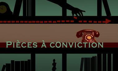 Project visual Pièces à conviction