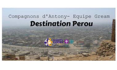 Visueel van project Destination Pérou - Equipe Gream- Compagnons d'Antony