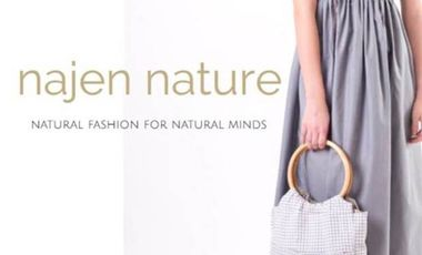 Project visual najen nature, mode écolo et solidaire